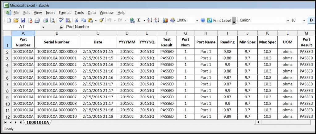 2015.03.07 mDATA export example